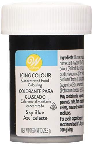 Wilton Colorante Alimenticio para Glaseado en Pasta, 28.3g, Color Azul Cielo, 04-0-0045