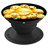 süßes herz augen liebe emojis emoticon happy smiley emoji - PopSockets Ausziehbarer Sockel und Griff für Smartphones und Tablets