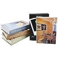 ダミーブック インテリアブック カフェ風 フェイク オブジェ 空間作り 撮影小物 飾り 5冊セット