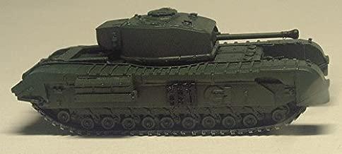 イギリス チャーチル歩兵戦車 Mk.Ⅶ 1/144 塗装済み完成品 Britain Infantry Tank Churchill Mk.Ⅶ 1/144 Painted finished goods