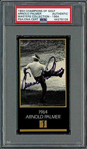Save %36 Now! Arnold Palmer Autographed 1993 Champions of Golf Card #1964 PSA/DNA #44276109 - Autogr...