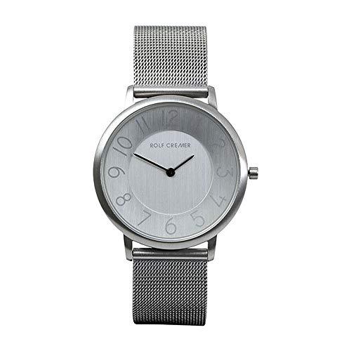 Rolf Cremer Gent 503704 Unisex Armbanduhr Silber