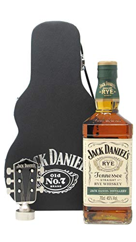 Jack Daniels - Tennessee Rye Guitar Case (Hard To Find Whisky Edition) - Whisky