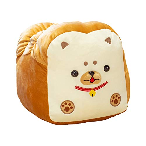 Plush Toy Leyerer 30cm Cute Adorable Long Bread Shaped Shiba Inu Plushie Down Cotton Soft Bread Pillow 2021 New Cushion Stuffed Comfortable Soft