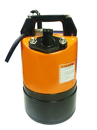 "Tsurumi LSC1.4S; Submersible Ground Drainage Pump, 2/3hp, 115V, 3/4"" Discharge"