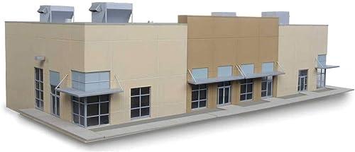 Walthers Cornerstone échelle H0 Kit de Montage Affaires Centre