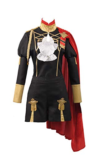 Cosplayfly Fire Emblem Three Houses Edelgard Cosplay Kostüm Adult Battle Stage Halloween Karneval Outfit (Auf Lager)