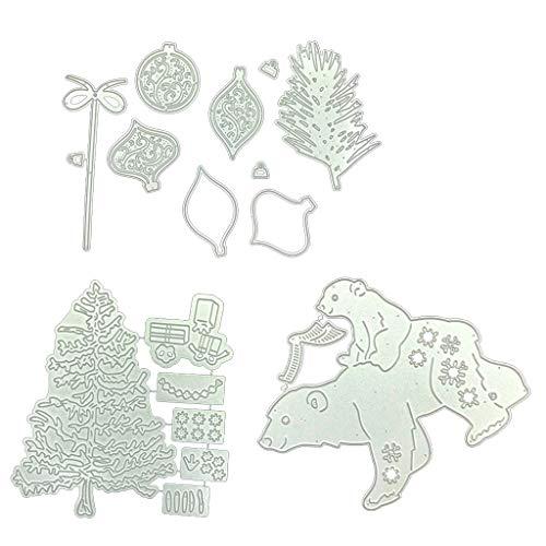Rongzou snijden Dies Stencil, Kerstmis Scrapbooking Tool DIY Craft Koolstofstaal Embossing Sjabloon voor Papieren Kaart Maken