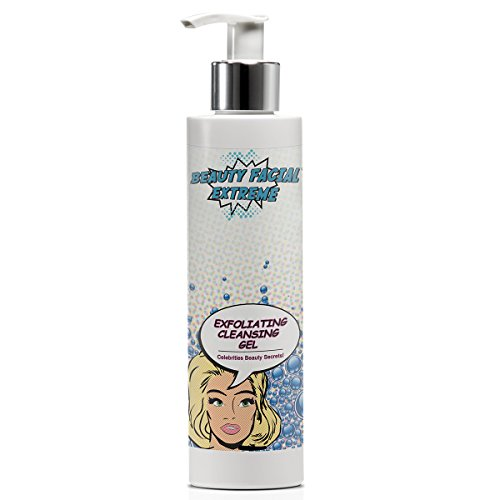 Exfoliating Gel Cleanser-Deep Cleansing & Exfoliation for Clogged Pores, Blackheads,...
