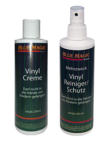 Set / Blue Magic 1 x Vinylreiniger 237 ml & 1 x Vinylcreme 236 ml