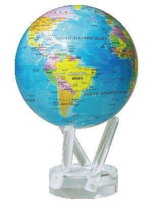 サイエンス地球儀 ムーバグローブ Blue globe