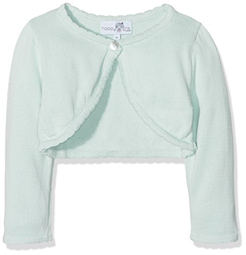 Happy Girls Mädchen Strickjacke Basic Bolero Blau (Ice Blue 61) 98