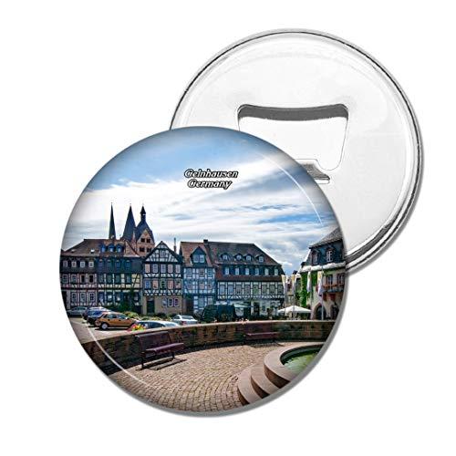 Weekino Deutschland Gelnhausen Hessen Bier Flaschenöffner Kühlschrank Magnet Metall Souvenir Reise Gift