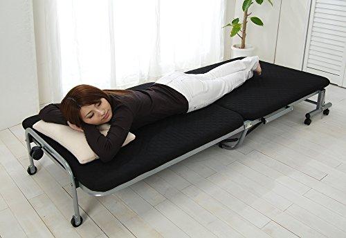 アイリスオーヤマ『折りたたみベッド(OTB-E)』