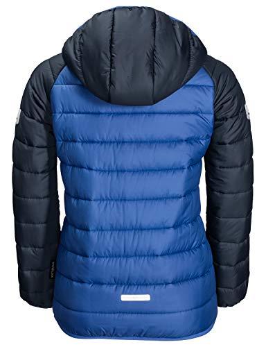 Jack Wolfskin Children's K Zenon Winter Windproof Quilted Jacket, Coastal Blue, 164 (EU)