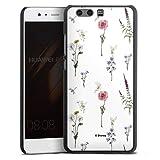 DeinDesign Coque Compatible avec Huawei P10 Plus Étui Housse Fleurs Produit sous Licence Officielle...