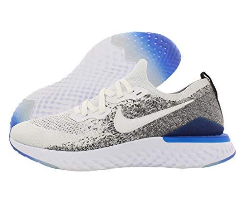 Nike Herren Epic React Flyknit 2 Laufschuhe, Weiß (White/White/Black/Racer Blue 102), 44 EU