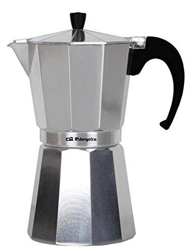 Orbegozo KFM 300 – Cafetera italiana de aluminio, 3 tazas de capacidad
