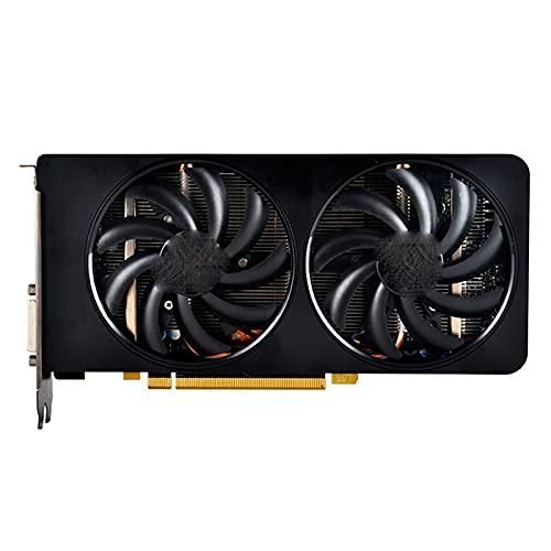 Tarjetas de Video aptas para fit for AMD Radeon R9 270X 4GB Tarjetas de Pantalla gráfica GPU Computadora de Escritorio Tablero de Juegos Mapa Tarjeta gráfica para Juegos