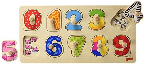 Goki Puzzle 10 Teile 57480 ab 2 Jahren