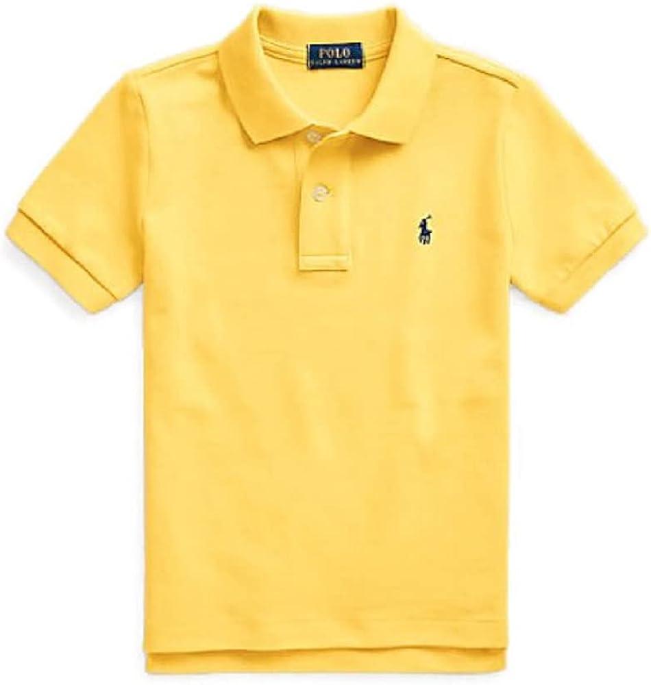 Ralph Lauren Polo Baby Boys Cotton Mesh Short Sleeve Big Pony Polo Shirt