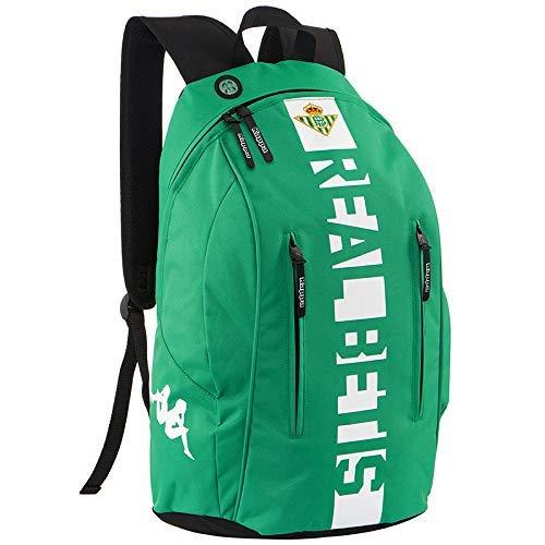 Kappa - Mochila de entrenamiento Real Betis Balompié 2018/2019 - Downforces - Verde - 27 litros