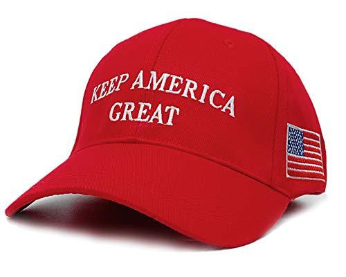 Make America Great Again Donald Trump Cap Hat Unisex Verstellbare Mütze - - Einheitsgröße