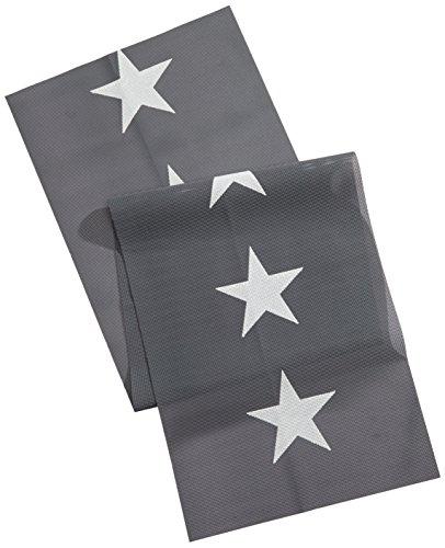 Friedola Miami Tischläufer, grau, 150 x 40 x 0,4 cm, 25616