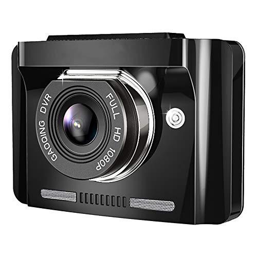 Grabadora de conducción con visión nocturna HD oculta, 200 W píxeles, gran angular de 140 grados, grabación en bucle, sensor de gravedad, detección de movimiento, monitorización de aparcamiento, graba