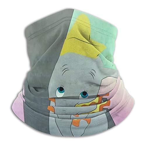 Uliykon Unisex Mikrofaser Gesichtsmaske Dumbo und His Mom Bandana Neck Gaiter Balaclava Wiederverwendbare Atmungsaktive Tuch Shield Cover Schal für UV Sonne Staub Schutz