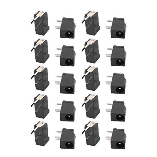 Aexit 20 Stk..3 Elektronik & Foto Pin PCB Montage 3.5x1.3mm weibliche DC Netzstecker Festnetztelefone, VOIP & Zubehör Buchse DC-002