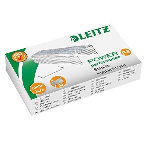 5er Pack Leitz 55700000 Heftklammer (24/6 mm) 5000 Stück verzinkt