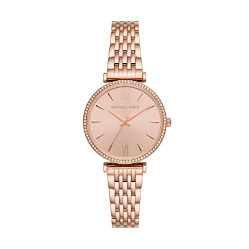 Michael Kors - Reloj de Cuarzo de Acero Inoxidable para Mujer MK4421