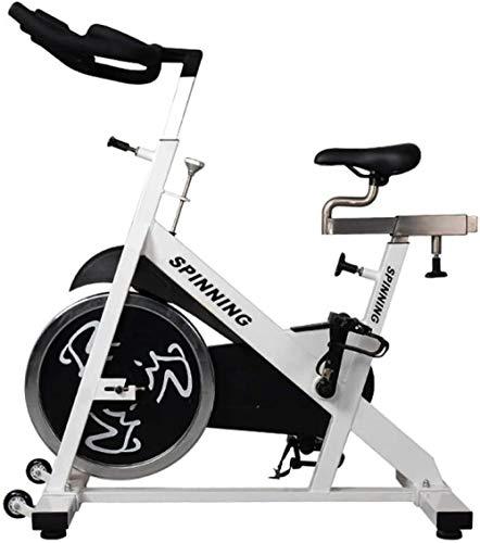Bicicleta de entrenamiento aeróbico de interior Spinning vertical bicicleta de ejercicio manillar ajustable con volante de inercia Ideal entrenador de cardio