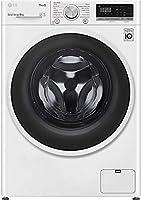 lg f4wt408aidd lavatrice 8 kg classe a+++ -40%, intelligenza artificiale ai dd, funzione vapore steam, motore inverter direct drive, 1400 giri/min, carica frontale, libera installazione - bianco