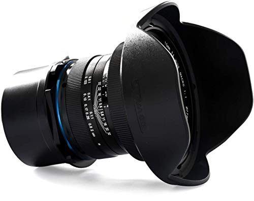 Laowa VE1540SFE - Objetico de 15 mm para cámara Sony FE, f/4, Color Negro