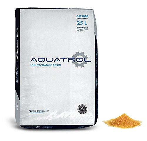 Water Softening Resin Softener Media 100% Ion Exchange Replacement - 1 CuFt Bag