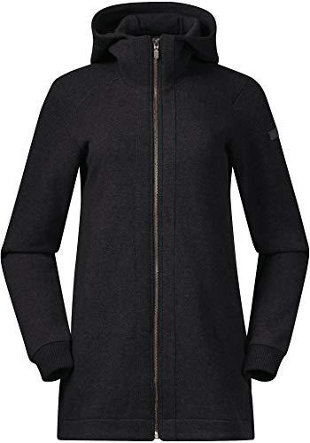 Bergans Oslo Wool Mantel Damen solid Charcoal Größe M 2021 Jacke