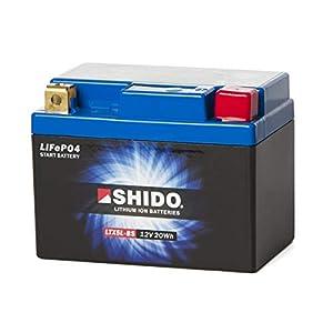 SHIDO LTX5L-BS LION -S- Batería de ion de litio, 12V 20WH, color azul
