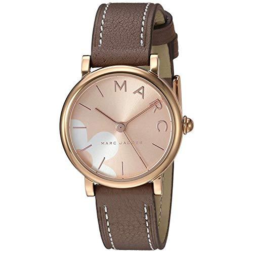 Marc Jacobs Classic Damen-Armbanduhr 29mm Armband Kalbsleder Grau Quarz MJ1621