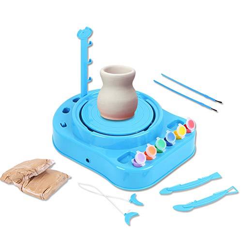 N/A Kids Pottenbakkerij Workshop Handmatige Puzzels DIY Elektrische Klei Kleur Schilderij Speelgoed