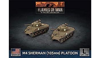 Flames of War  Late War  United States  M4 Sherman  105mm  Assault Gun Platoon  UBX71