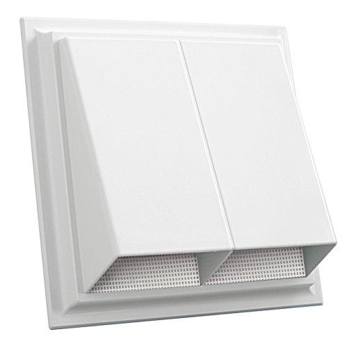 De ventilatie CPR2424B bivakmuts 240 x 240 mm met insectennet wit