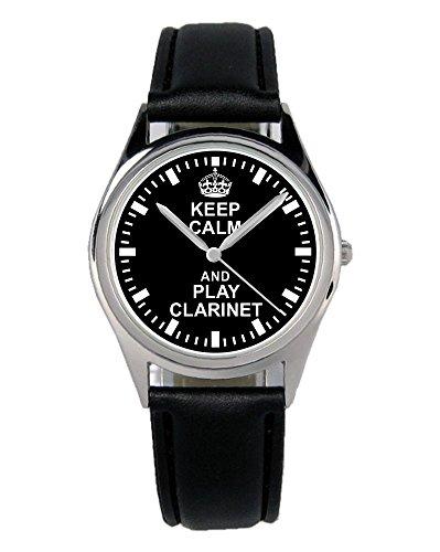 Geschenk für Klarinetten Spieler Uhr B-2264