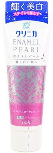 Lion Japan Clinica Enamel Pearl Whitening Toothpaste (130g/4.3 fl.oz)