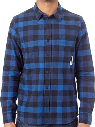 Oakley Dark blau Icon Flanel Hemd (Langarm) - S