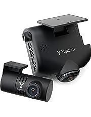 ユピテル 全方向対応 360度カメラ+リアカメラ搭載 ドライブレコーダー Q-30R 約360万画素 + 200万画素 SONY製CMOSセンサー「Starvis™」搭載 夜間対応 地デジノイズ対策済 GPS Gセンサー搭載 3年保証 microSDカード32GB付属 Yupiteru