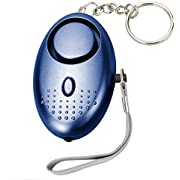 Zotoyi Personal Alarm for Women Self-Defense Security Alarm Keychain 135DB Self-Defense Electronic Device Security Alarm Keychain with LED Light for Girls Women Kids and Elders(Blue)