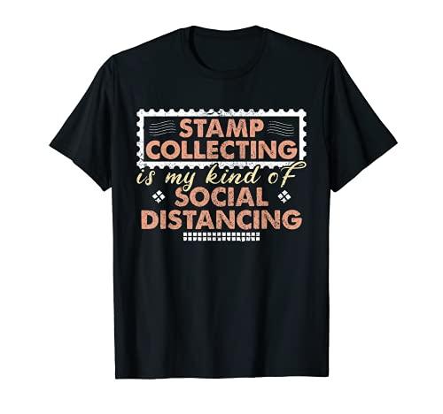 Sello coleccionista de sellos de amor filatelia Camiseta