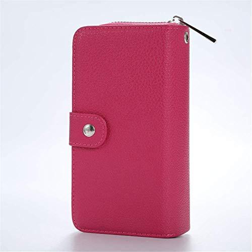 ZhongYi Telefoonhoesje Samsung iPhone X,XR,XS etc Case Premium PU Lederen Handgemaakte Flip Multifunctionele Portemonnee Telefoonhoesje Cover Credit Card Protector 6 kleuren iphone6s D